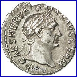 Monnaies antiques, Trajan, Denier, Rome, RIC 58 #33995