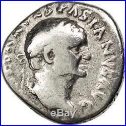 Monnaies antiques, Vespasien, Denier, Cohen 226 #64402