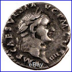 Monnaies antiques, Vespasien, Denier, Cohen 45 #61351