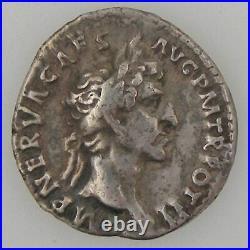 NERVA, Denier, R/ COS III PATER PATRIAE, TTB Empire Romain NERVA (96-98) Denier