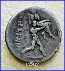 N°10 République romaine. HERENIA Denier