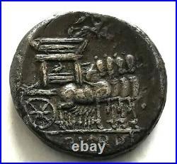 N°10 Rome. RUBIA Denier DOS /L. RVBRI (argent)