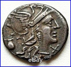 N°14 Pompeia (137) Denier. F Ostlv S Sex. Po Roma R1