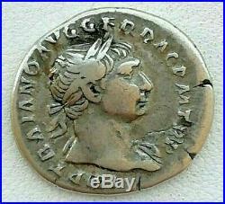 N°1c Trajan (97-117) Denier (très rare R3)
