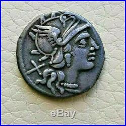 N°2 République romaine. Valéria 140 AC Denier