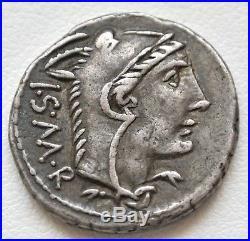 N°47 Thoria (105) Denier. M L. Thorivs Balbvs / I. S. M. R