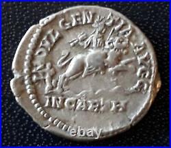 N° 5  Piece Romaine-septime Severe-193/211-denier D'argent-ttb
