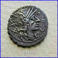 N°5 République romaine. COSCONIA Denier RARE R2! Narbonne