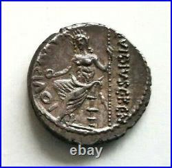 N°6 République romaine. VIBIA (48 av. JC) Denier (PANSA / C. VIBIVS) R1