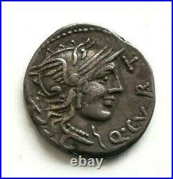 N°7 République romaine. CURTIA Denier