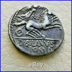 N°8 République romaine. JUNIA Denier