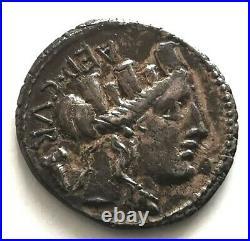 N°8 Rome. PLAETORIA Denier (CESTIANVS/M PLAETORIVS) argent
