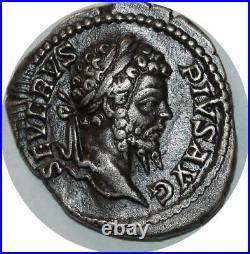 O821 RARE Denarius Denier Septimius Severus INDVLGENTIA AVGG Rome 193-211 AD