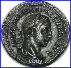 O824 Rare Denier Severus Alexander Auguste Rome ANNONA AVG 222-235 Make offer