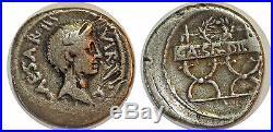 OCTAVE Denier CAESAR DICT PER -42 ROME RCV. 1536