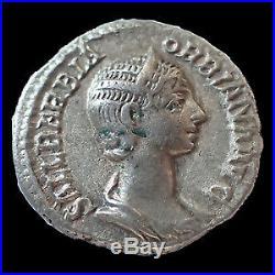 ORBIANA, ORBIANE, Denier Rome en 225, CONCORDIA AVGG, 18mm, 2,95 grms, RIC. 319 T