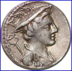 P3146 Roman Republic Denier Denarius C Mamilius Limetanus 82 BC Plain edge