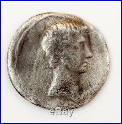 Pièce romaine Roman Coin OCTAVE Denier Silver ANEPIGRAPHE Bouclier #179