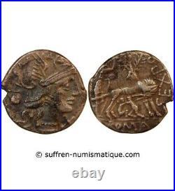 Pompeia Denier Argent 137 Av Jc Rome