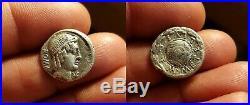 RARE Denier République Romaine de CAECILIA / Denarius CAECILUS METELLUS TTB+ROME