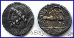REPUBLIQUE ROMAINE C. MEMMIUS L. F. GALERIA (87 Av J. C) DENIER