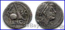 REPUBLIQUE ROMAINE Cn. CORNELIUS LENTULUS MARCELLINUS (76-75 Av J. C) DENIER