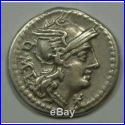 REPUBLIQUE ROMAINE Denier CAECILIA (Jupiter) 130 AV. J. C (FR1) 16p664-5