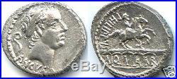 REPUBLIQUE ROMAINE L. MARCIUS PHILIPPUS (56 Av J. C) DENIER