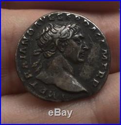 ROME Denier de Trajan revers DACCIA CAPTA