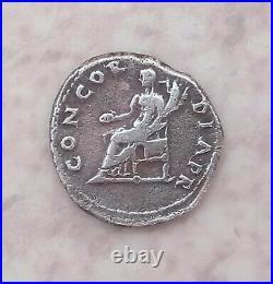 Rare Et Très Beau Denier / Denarius De Vitellius. R/ Concordia Pr. État Ttb