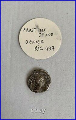 Rare Lot De Deniers Romains