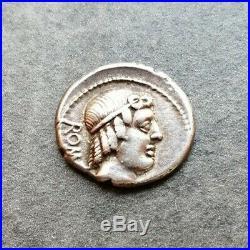 République Caelius Mettellus Denier 3,88gr