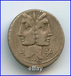 République Romaine C. Fonteius (114-113 av J. C.) Denier, Rome