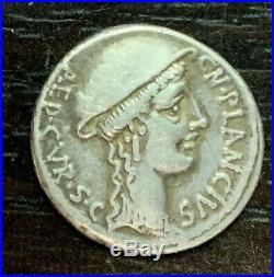 Republique Romaine Cn, Plancius (55 Av Jc) Denier
