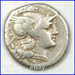 République Romaine Denier ANONYMES 207 AC (FR1) 18P874-21