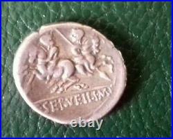 République Romaine Denier De Servilia Moins 136 Av. Jc