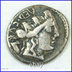 République Romaine Denier Furia 84 AC (FR2) 19p909/9