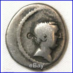 République Romaine Denier LIVINEIA REGULUS 42 AC (FR2) 18p874-38
