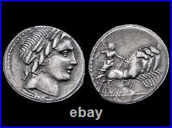 République Romaine Gargilius, Ogulnius et Vergilius Denier 86 ap. JC, Rome