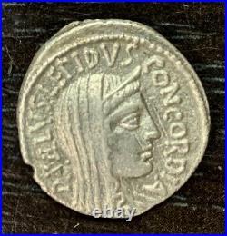 Republique Romaine L. Aemilius (62 Av Jc) Denier