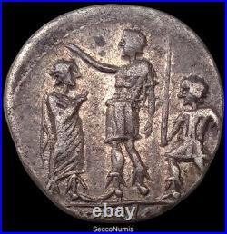 République Romaine. Porcia (110-109 av-jc)Denier RRC 301/1