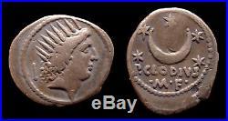République romaine Denier / Denarius Claudia (42 avant J-C)
