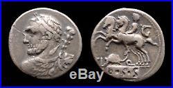 République romaine Denier Quinctia (112-111 avant J-C)