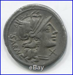 République romaine Denier de la gens Atilia