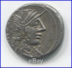 République romaine Denier de la gens Fannia