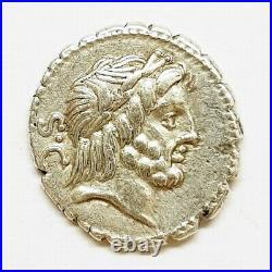 République romaine denier Quintus antonius balbus
