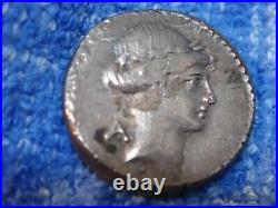 Romain République 46 Bce Argent Denier D'Argent Considius Rome Mint Crawford