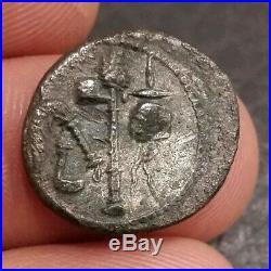 Roman Coin Julius Caesar denarius denier Elephant
