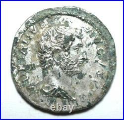 Roman Empire- Hadrian, Argenté Denier #2347#