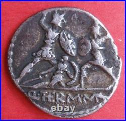 Roman Republic MINUCIA 103 av. JC, Denier dArgent, Rome
